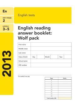 English UPSR - Writing Techniques
